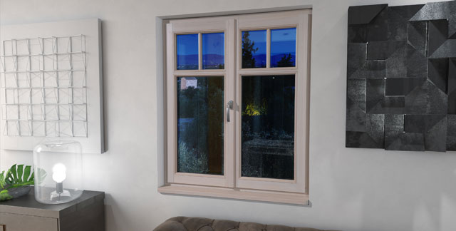 kunststofffenster in wohnhaus
